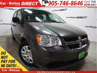 Used 2015 Dodge Grand Caravan CVP| DUAL CLIMATE CONTROL| OPEN SUNDAYS| for sale in Burlington, ON