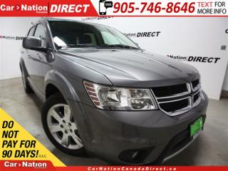 Used 2012 Dodge Journey R/T| AWD| LOW KM'S| LEATHER| SUNROOF| for sale in Burlington, ON