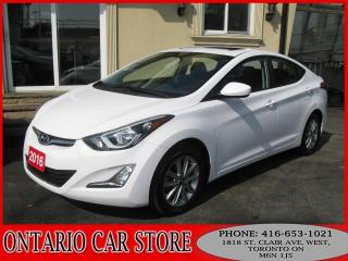 Used 2016 Hyundai Elantra SE SPORT SUNROOF !!! NO ACCIDENTS!!! for sale in Toronto, ON
