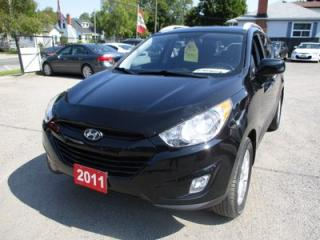 Used 2011 Hyundai Tucson POWER EQUIPPED GLS MODEL 5 PASSENGER 2.4L - 4 CYL.. AWD.. BLUETOOTH.. HEATED SEATS.. CD/AUX/USB.. REMOTE START.. for sale in Bradford, ON