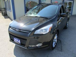 Used 2014 Ford Escape LOADED SE MODEL 5 PASSENGER 2.0L - ECO-BOOST.. 4WD.. LEATHER.. HEATED SEATS.. NAVIGATION.. BACK-UP CAMERA.. for sale in Bradford, ON