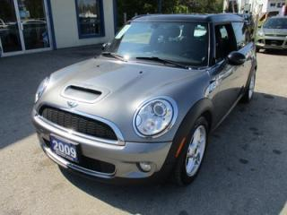 Used 2009 MINI Cooper S 'FUN TO DRIVE' S-TYPE 4 PASSENGER 1.6L - TURBO.. LEATHER.. HEATED SEATS.. DUAL SUNROOF.. CD/AUX/USB INPUT.. for sale in Bradford, ON