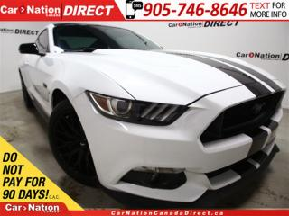 Used 2016 Ford Mustang GT Premium| RECARO SEATS| PERFORMANCE PACKAGE| for sale in Burlington, ON