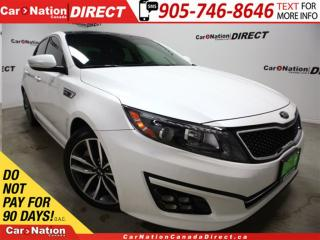 Used 2014 Kia Optima SX Turbo| LEATHER| NAVI| DUAL SUNROOF| for sale in Burlington, ON