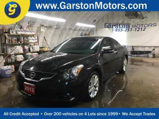 Used 2012 Nissan Altima 3.5 SR*LEATHER*POWER SUNROOF*ALLOYS*FOG LIGHTS*DUAL ZONE CLIMATE CONTROL*HEATED FRONT SEATS*BOSE AUDIO*KEYLESS ENTRY*PUSH BUTTON TO START*BACK UP CAMERA*AM/FM/CD/AUX/USB*AUTO DIMMING MIRROR* for sale in Cambridge, ON
