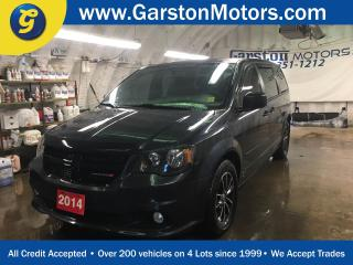Used 2014 Dodge Grand Caravan SXT PLUS*DUAL ROW STOW N GO*BACK UP CAMERA*REAR DVD PLAYER*U CONNECT PHONE*POWER MID ROW AND REAR VENTED WINDOWS* for sale in Cambridge, ON