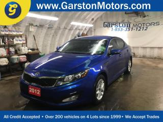 Used 2012 Kia Optima LX PLUS*KEYLESS ENTRY*PHONE CONNECT*POWER WINDOWS/LOCKS/MIRRORS*CLIMATE CONTROL*HEATED FRONT SEATS*POWER DRIVER SEAT*FOG LIGHTS*ALLOYS* for sale in Cambridge, ON