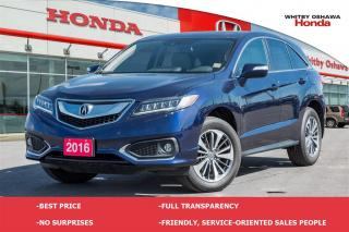 Used 2016 Acura RDX Base w/Elite Package for sale in Whitby, ON