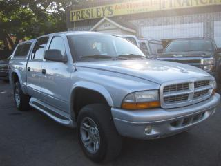 Used 2003 Dodge Dakota Sport V8 Quad Cab 4x4 AC PW PL Cruise for sale in Ottawa, ON