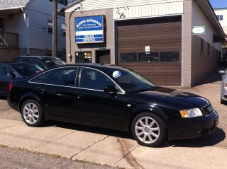 Used 2004 Audi A6 2.7T S-LINE for sale in Kitchener, ON