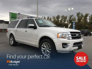 Used 2016 Ford Expedition Max Limited, EcoBoost, Side Vehicle Detection, 4x4 for sale in Vancouver, BC