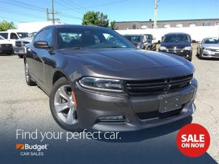 Used 2016 Dodge Charger SXT, Media Hub, Power Sunroof, Super Low Kms for sale in Vancouver, BC