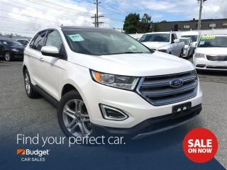 Used 2016 Ford Edge Titanium, Navigation, Radar Assistance for sale in Vancouver, BC