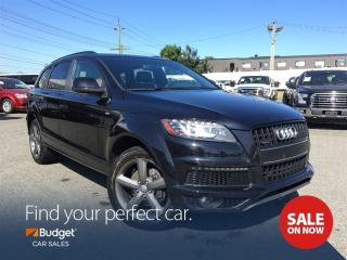 Used 2014 Audi Q7 Luxury, Navigation, Quattro All Wheel Drive for sale in Vancouver, BC