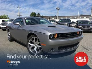 Used 2016 Dodge Challenger Navigation, Leather Seating, Bluetooth, Low Kms for sale in Vancouver, BC