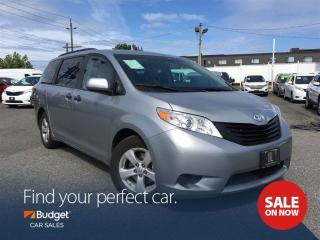 Used 2016 Toyota Sienna Bluetooth, 7 Passenger People Mover, Reliable for sale in Vancouver, BC