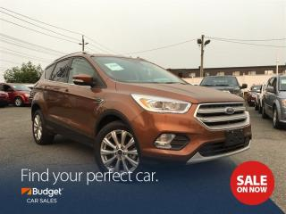 Used 2017 Ford Escape Titanium, Self Parking, Blind Spot Detection for sale in Vancouver, BC