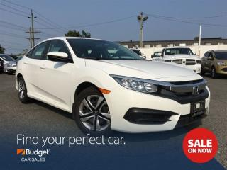 Used 2017 Honda Civic Sedan Bluetooth, Heated Seats, Low Kms for sale in Vancouver, BC