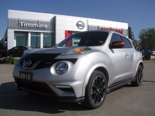 Used 2015 Nissan Juke SL NISMO for sale in Timmins, ON