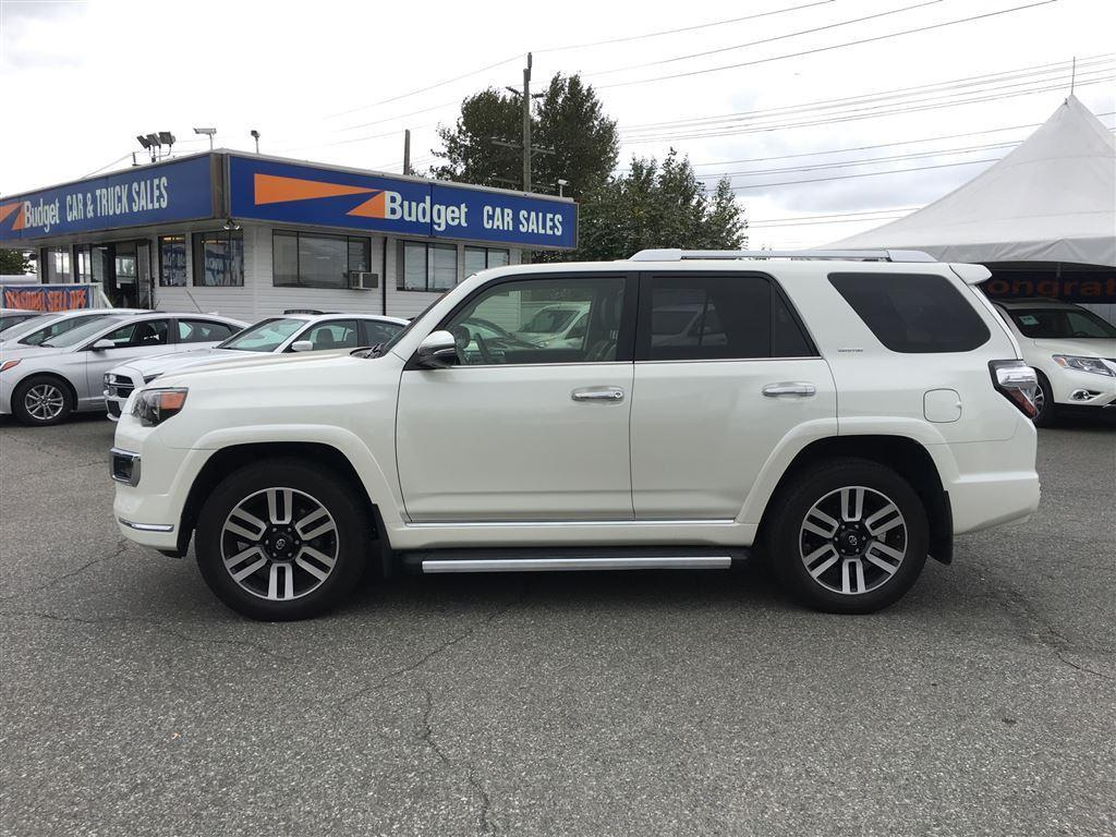 used 2015 toyota 4runner limited edition navigation bluetooth leather for sale in vancouver. Black Bedroom Furniture Sets. Home Design Ideas
