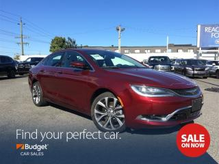 Used 2016 Chrysler 200 Performance Plus, Navigation, Leather Interior for sale in Vancouver, BC