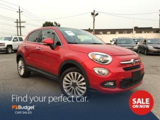 Used 2016 Fiat 500X Rare Rosso Perla Colour, Leather Seating for sale in Vancouver, BC