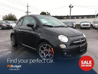 Used 2012 Fiat 500 Sport Edition, Sunroof, Leather, Bluetooth for sale in Vancouver, BC