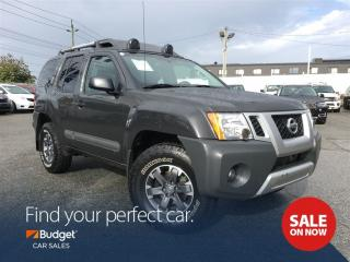 Used 2015 Nissan Xterra PRO-4X, Navigation, Leather, Low Kms for sale in Vancouver, BC