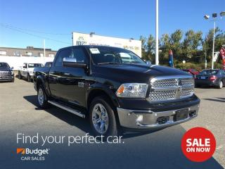 Used 2016 Dodge Ram 1500 Laramie, EcoDiesel, Navigation, Leather for sale in Vancouver, BC