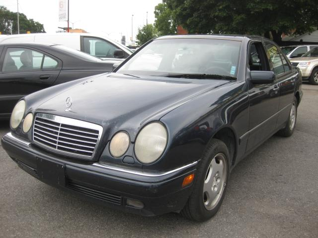 1997 Mercedes-Benz E420 E420 AC PW PL Sunroof Heated Leather blk on blk