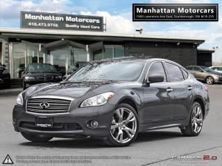 Used 2013 Infiniti M37 M37x SPORT PKG |NAV|CAMERA|PHONE|SERVICE RECORDS for sale in Scarborough, ON