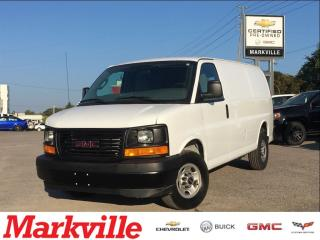 Used 2017 GMC Savana 2500 CARGO VAN-CERTIFIED PREOWNED for sale in Markham, ON