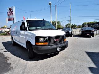 Used 2014 GMC Savana AUTO EXTENDED PW PL NO RUST AC NO ACCIDENT LOCAL for sale in Oakville, ON