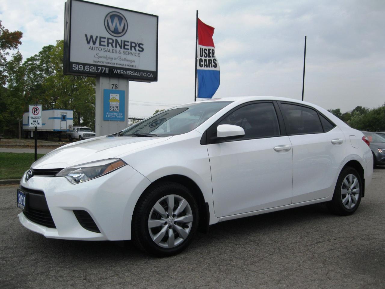 Used 2014 Toyota Corolla Le For Sale In Cambridge Ontario