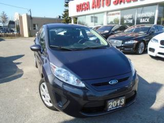 Used 2013 Ford Fiesta SE HEATED SEATS AUXILIARY  SAFETY E- TEST for sale in Oakville, ON