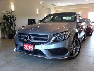 Used 2015 Mercedes-Benz C-Class C400  4MATIC AMG PKG|NAVI|REARCAM|PANOROOF! for sale in Toronto, ON