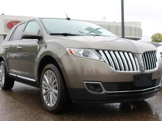 Used 2012 Lincoln MKX AWD, HEATED FRONT / REAR SEATS, HEATED WHEEL, COOLED SEATS, DUAL SUNROOF, NAVI, BACKUP CAM, USB/AUX/SD for sale in Edmonton, AB