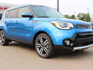 New 2018 Kia Soul EX TECH, DUAL SUNROOF, COOLED/HEATED SEATS, HEATED REAR SEATS, HEATED WHEEL, BUTTON START, MOOD LIGHTING, AUX/USB for sale in Edmonton, AB