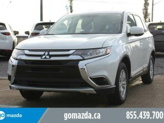 Used 2017 Mitsubishi Outlander ES AWC HEATED SEATS BLUETOOTH ACCIDENT FREE for sale in Edmonton, AB
