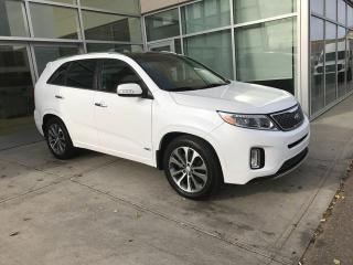 Used 2015 Kia Sorento SX/NAV/BACK UP CAMERA/HEATED AND COOLED SEATS/BLIND SPOT for sale in Edmonton, AB