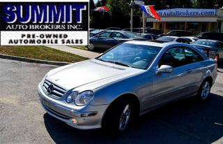 Used 2003 Mercedes-Benz CLK 320 | LEATHER | SUNROOF | FRONT & REAR SENSORS for sale in Richmond Hill, ON