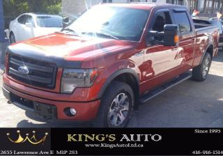 Used 2014 Ford F-150 FX4, NAVI, BACK UP SUNROOF for sale in Scarborough, ON
