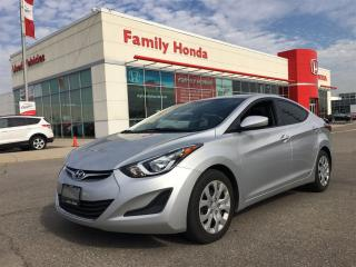 Used 2016 Hyundai Elantra GL for sale in Brampton, ON