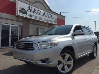 Used 2009 Toyota Highlander 7 seats!!! GPS !!! Leather!!! sunroof !!!! for sale in North York, ON
