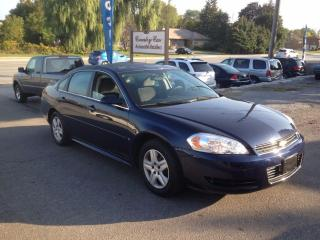 Used 2009 Chevrolet Impala LS VERY CLEAN INSIDE AND OUT CERTIFIED for sale in Bradford, ON