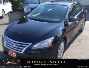 Used 2013 Nissan Sentra SV LUXURY for sale in Scarborough, ON