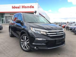 Used 2016 Honda Pilot Touring, Navigation, leather, sunroof for sale in Mississauga, ON