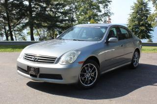 Used 2005 Infiniti G35 Luxury for sale in Oshawa, ON
