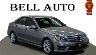Used 2013 Mercedes-Benz C-Class 300 4MATIC SPORT PKG LEATHER SUNROOF for sale in North York, ON