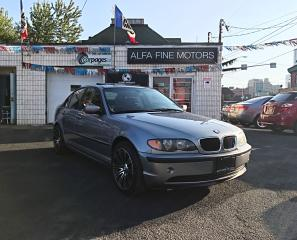 Used 2004 BMW 3 Series 320i ACCIDENT FREE ((CERTIFIED)) for sale in Hamilton, ON
